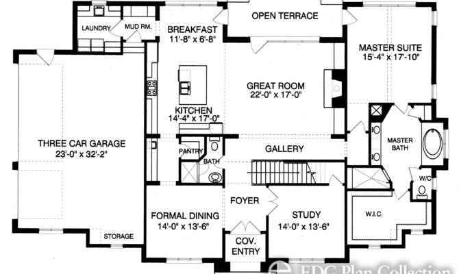 Tudor House Plans Universal Plan Service