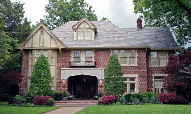 Tudor Revival Style House Swiss Avenue Dallas One