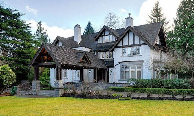 Tudor Style Mansion Vancouver First Shaughnessy