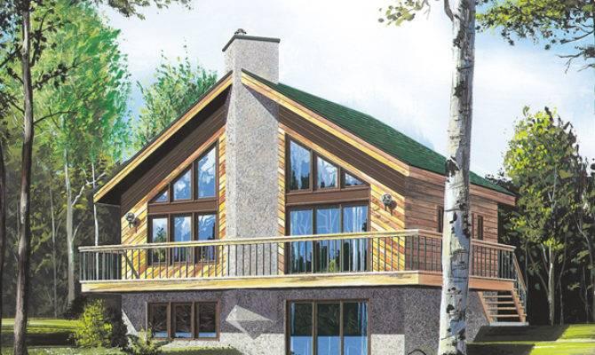Tumbler Ridge Frame Home Plan House Plans