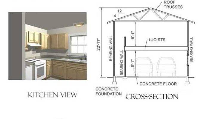 Turn Garage Apartment Plan Into Tiny House