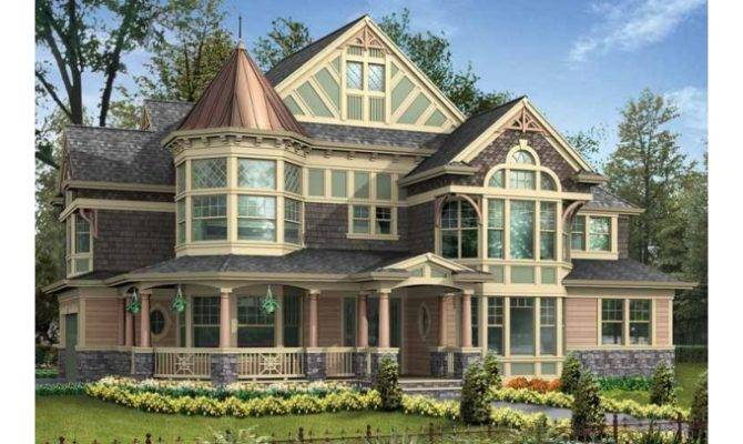Turret Home Plans Eplans Victorian House Plan Its Best