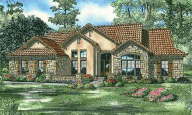 Tuscan House Plan Bedrooms Bath