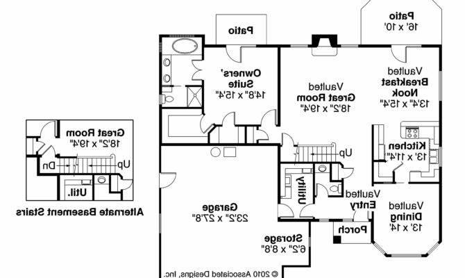 Tuscan House Plans Mansura Associated Designs