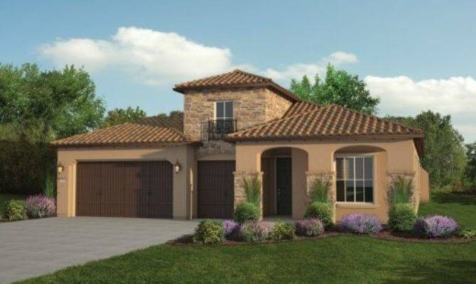 Tuscan House Plans Single Story Floor