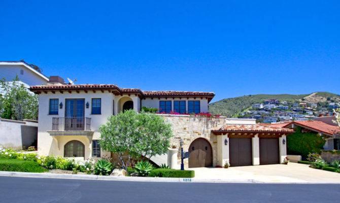 Tuscan Style Homes Sale Laguna Beach Ocean