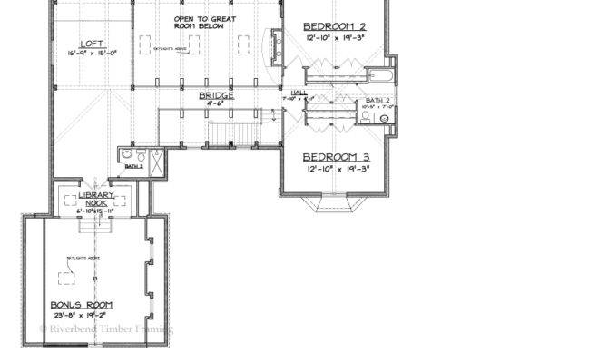 Tuscany Timber Frame Home Floor Plans