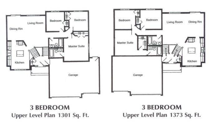 Twin Cities Split Level Foyer Floor Plans
