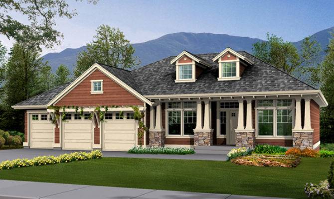 Twingate Craftsman Home Plan House Plans More