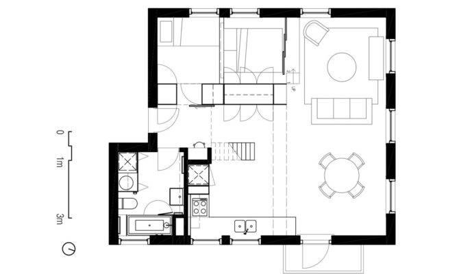 Two Apartments Modern Minimalist Japanese Style