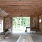 Two Bay Detached Garage Plans Tall Doors Garages Workshops