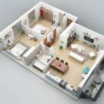 Two Bedroom Balcony Apartment Interior Design Ideas