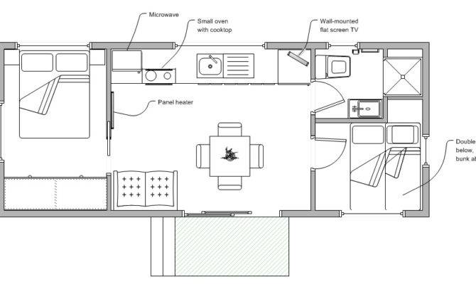 Two Bedroom Cabins Launceston Holiday Park Legana