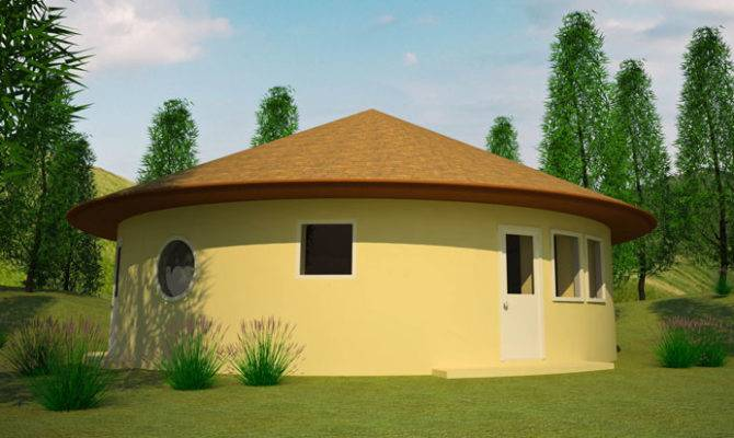 Two Bedroom Earthbag Roundhouse
