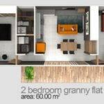 Two Bedroom Granny Flat Designs Plans Flats Sydney