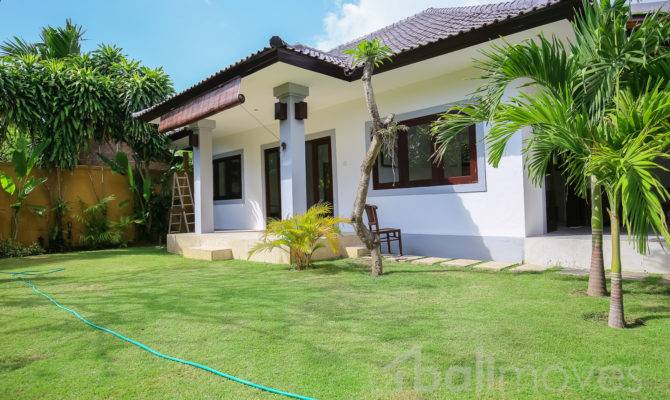Two Bedroom House Beautiful Garden Sanur Local