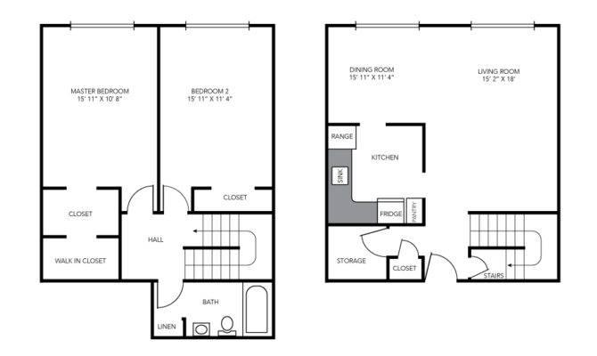 Two Bedroom Maisonette Birchwood Village Rental