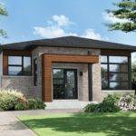 Two Bedroom Modern House Plan Contemporary