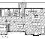 Two Bedroom One Bath Timber Framed House Features Open Floor Plan