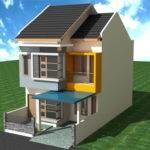 Two Floor Minimalist House Design Hopeycopey Blog