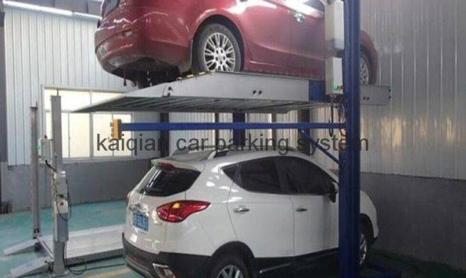 Two Level Post Car Parking System