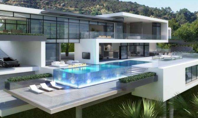 Two Luxury Modern Villas Los Angeles