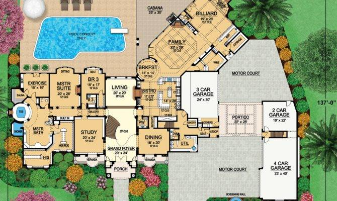 11 Floor Plans Mansion For A Jolly Good Time Home Plans Blueprints
