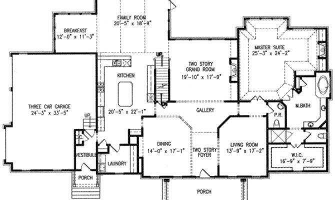 Two Master Suites Architectural Designs
