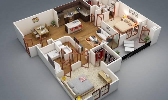 Two Quot Bedroom Apartment House Plans Architecture Amp Design