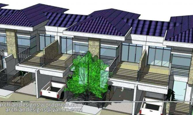 Two Storey Apartment Design Kampot