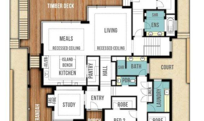 Two Storey Hamptons Style Home Plans Perth