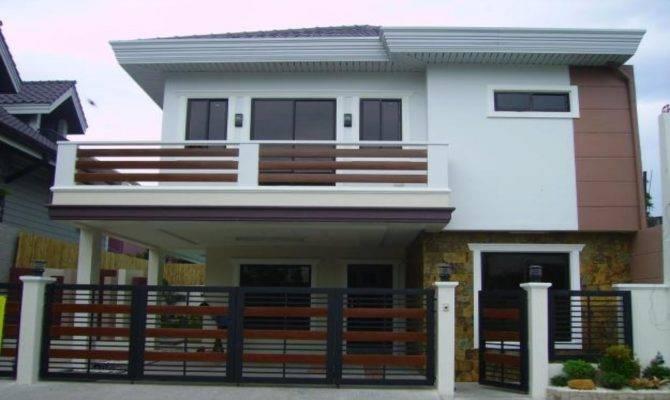 Two Storey House Design Terrace Modern Plan