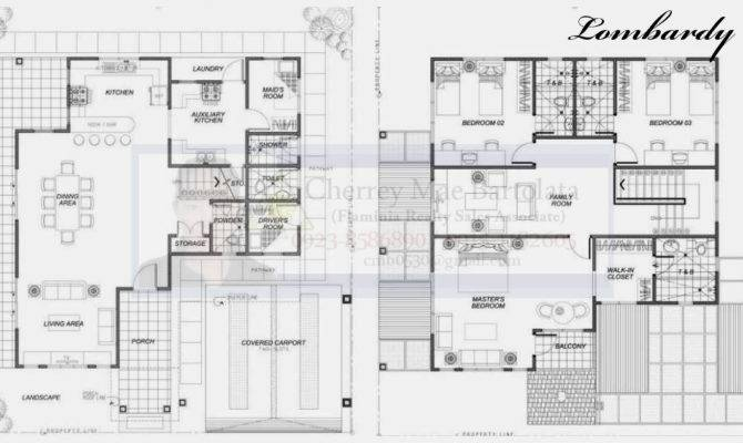 Two Storey House Floor Plans Philippines Design