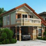 Two Storey House Plan Balcony Amazing Architecture