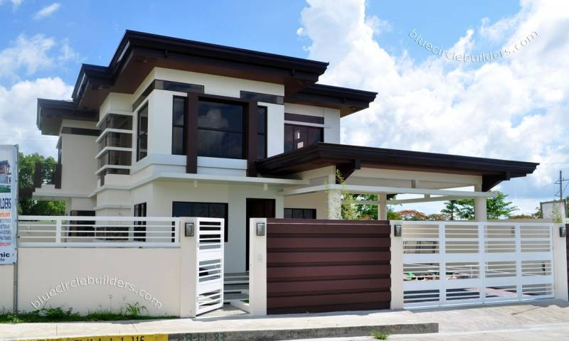 Two Storey Mansion Modern House Designs Home Plans Blueprints
