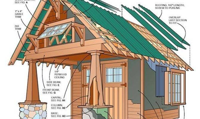 Two Storey Shed Plans Blueprints Large Gable