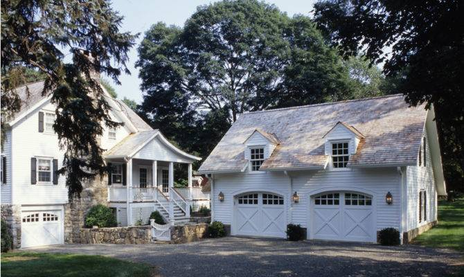 Two Story Addition Carriage House Garage Clark
