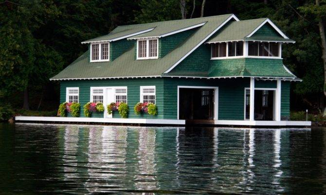 Two Story Boathouse