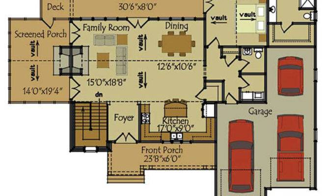 Two Story Cottage House Plan Olde Stone