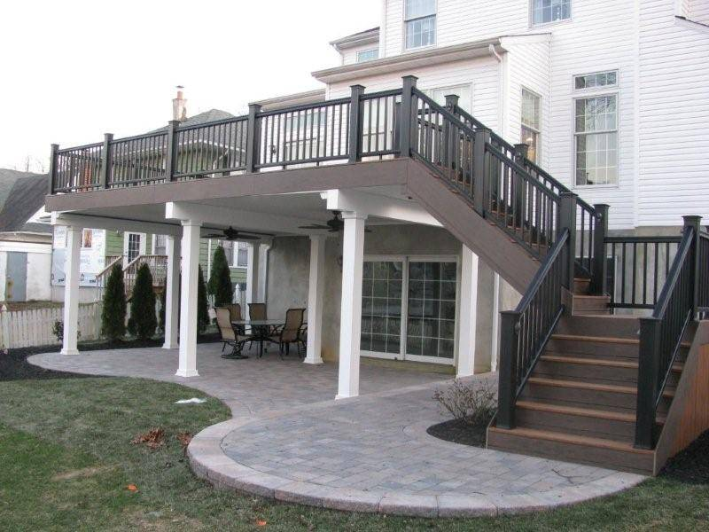 Two Story Deck Pinterest Second Home