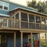 Two Story Decks Porches Shed Roof Screen Porch Deck
