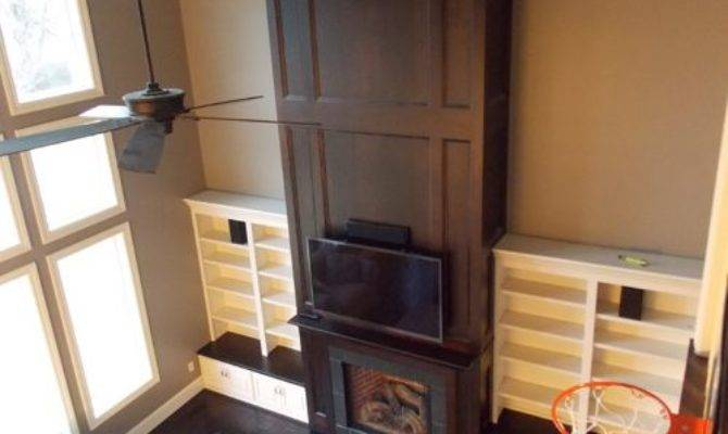 Two Story Fireplace Ideas Remodel Decor