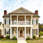 Two Story House Double Porches Dream Home Pinterest