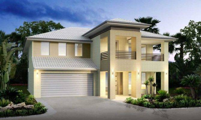 Two Story House Plans Balcony Ideas Home Design