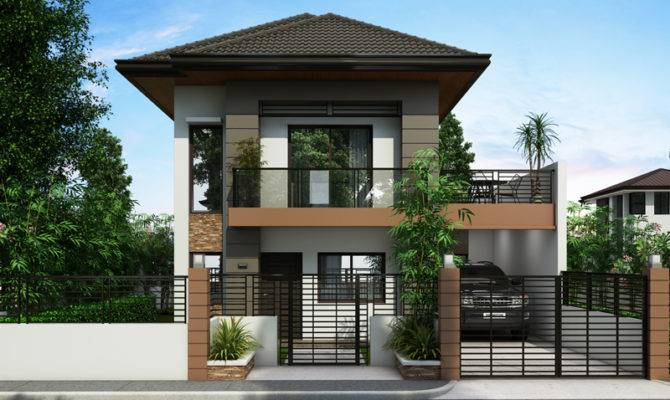 Two Story House Plans Series Php Pinoy