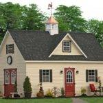 Two Story Sheds Storage Barns Direct