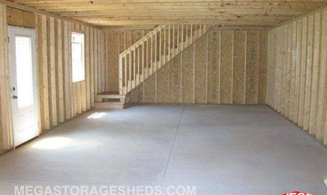 Two Story Storage Shed
