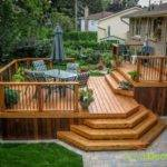 Two Tier Deck Home Design Ideas Remodel Decor