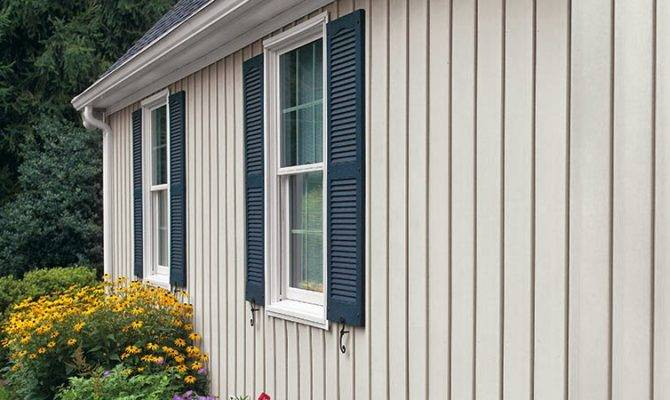 Types Vertical House Siding
