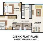Typical Floor Plan Bhk Flat